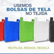 Reduzcamos el Uso de Bolsas de Plástico con Ayuda de la Tela No Tejida